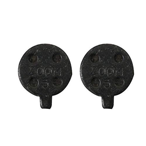 N / A Lenker für Motorradbremsen Universal Metallbremsscheiben Pads Full Metal Sinter & Halbmetallharz, for Fahrrad und Skateboard (2 Stück) (Color : Black)