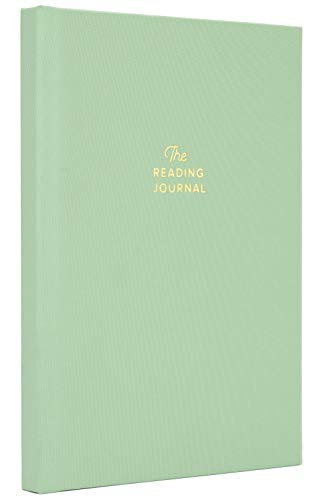 Reading Journal. Book Journal for Book Lovers & Readers. Review and Track Your Reading (Green)