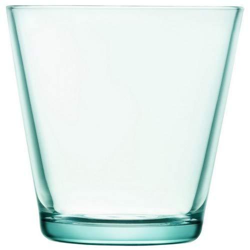 Iittala 1008633 Kartio 2-er Set Gläser 40cl, wassergrün, Glas