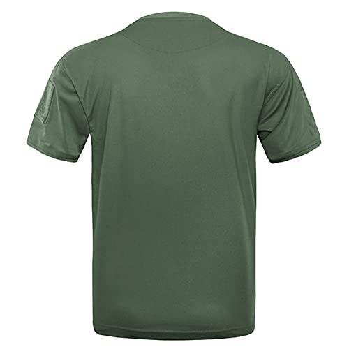 T-Shirts für Herren Kurzarm Atmungsaktiv Kurzarmshirt Sports Shirt Trainingsshirt für Männer Sport Laufen Basketball Fitness Anzug Casual Quick Dry Atmungsaktiv Tops Blouse