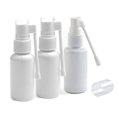 3PCS 1oz(30ml) Plastic Nasal Spray Bottle With 360...