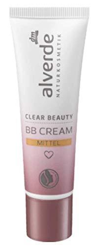 alverde NATURKOSMETIK Pure Beauty BB Cream mittel, 30 ml