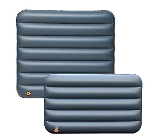 Colchón de aire del coche inflable, colchón inflable del coche, cama de aire de camping de viaje portátil, tronco multifunción plegable SUV Cojín de aire Cojín de aire Accesorio interior