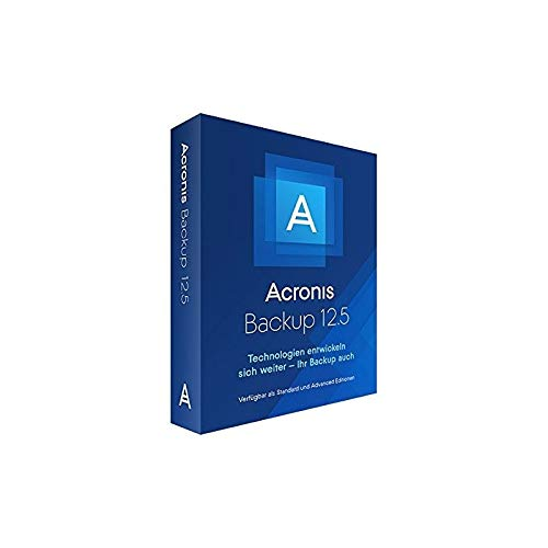 Acronis Backup 15 Virtual Host Box|Standard|1 Lizenz|1 Jahr|PC|Disc|Disc