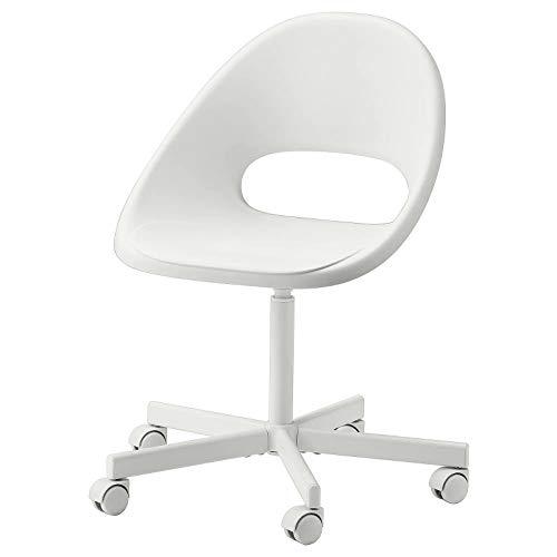 Sedia Scrivania Tavolo per ufficio casa studio adatto per bambini e adulti in caso di poco spazio disponibile (Bianco, Sedia) (Bianco)