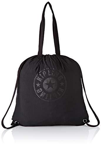 Kipling Hiphurray Packable - Borse Tote Donna, Nero (Black Light), 39x43x1 cm (B x H T)