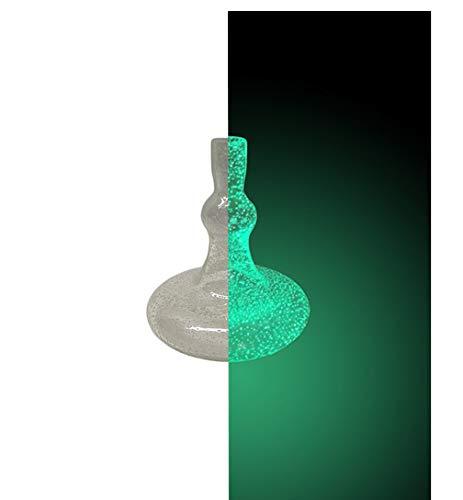 Smokah Shisha Ersatzbowl Glow in The Dark Green Flasch Wasserpfeife ohne Gewinde