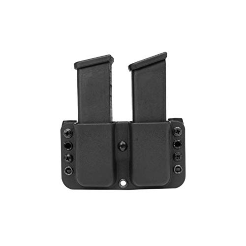Blade-Tech Total Eclipse Double Mag Pouch for Sig 320, Beretta 92/96, Springfield XD 9/40 and More