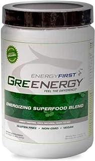 Sponsored Ad - Greenergy Premium Organic Green Drink Powder | 30 Super Greens Blend | Green Vegan Superfood | Non GMO, Glu...