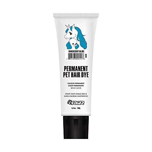 Opawz Dog Hair DYE Gel (Blue) Bright, Fun Shade, Semi-Permanent, Completely Non-Toxic Safe