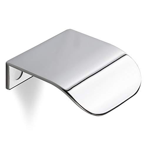 SCHÜCO ALU COMPETENCE Möbelgriff Ole Schranktürgriff Küchengriffe Chrom glänzend BA 32 mm Design trifft auf Funktion