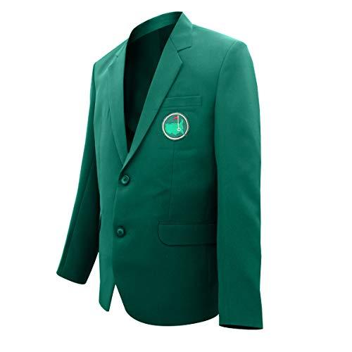 Fashion_First - Giacca da uomo Master Golf Tournament, colore: Verde Verde XL