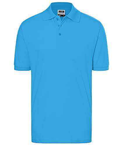 James & Nicholson Poloshirt Classic | Farbe: Aqua | Grösse: 3XL