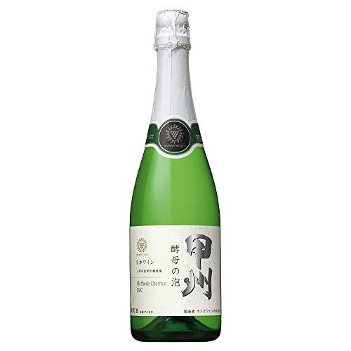 【日本ワインスパークリング売上NO.1】マンズ酵母の泡甲州[スパークリング中辛口日本720ml]