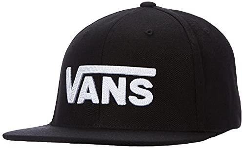 Vans Drop V II Snapback Gorra de béisbol, Negro (Black-White Y28), Talla única para Hombre