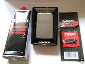 Zippo briquet basic package (chrome brossé)