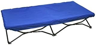 Regalo My Cot Portable Toddler Bed, Royal Blue, New