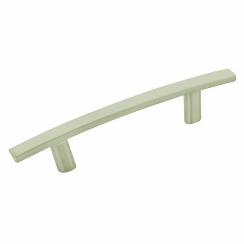 Amerock Cyprus 3 in (76 mm) Center-to-Center Satin Nickel Cabinet Pull - 10 Pack
