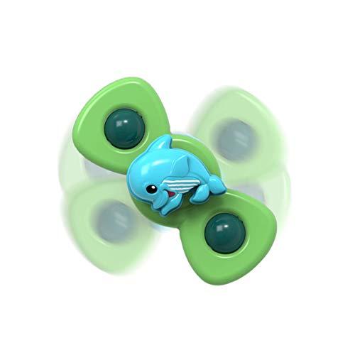 HANDAN Giocattolo per trottola con ventosa per bambini, giocattolo innovativo per bambini Giocattoli per girobussola per bambini Tavolo da pranzo Lenisce i giocattoli da bagno d'acqua per classical