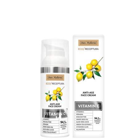 Vitamin C anti-age face cream