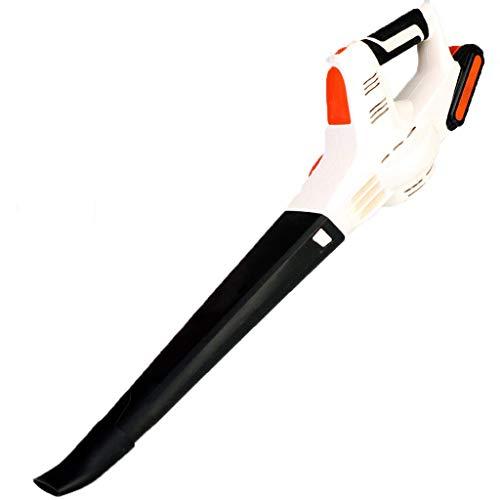 Yangangjin Lichtgewicht bladblazer van 1,6 kg accu-handblazer lithium-ion-accu en oplader inclusief geschikt voor reinigingsmiddelen voor sportscholen