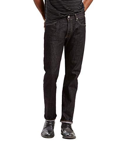 Levi's 501 Original Fit Jeans Vaqueros, Iconic Black, 32W / 32L para Hombre
