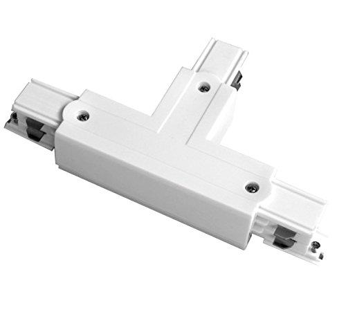 Silver Electronics T-aansluiting rechts voor koplampen, wit, 16,7 x 3,2 x 9,9 cm