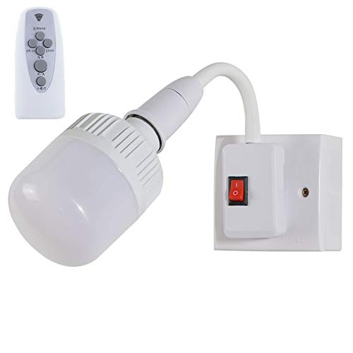 YDZM Wandleuchte Tischlampe Schlafzimmer Led Nachttischlampe Leselampe Kann 360 ° E27 Lampenkopf Innenbeleuchtung Drehen