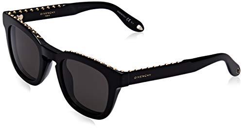 Givenchy GV 7006/S Nr 807 Occhiali da Sole, Nero (Black/Brown), 48 Unisex-Adulto
