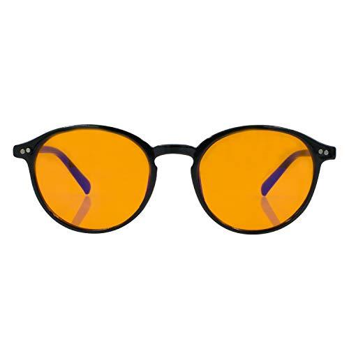 Foxmans Gafas para Computadoras y Pantallas Digitales, Filtro de Luz Azul -...