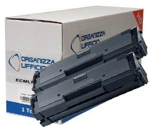 ORGANIZZAUFFICIO 2 Toner per Samsung MLT-D111S/L ***1.800*** Pagine - 5% di Copertura, 2 Cartucce Compatibili