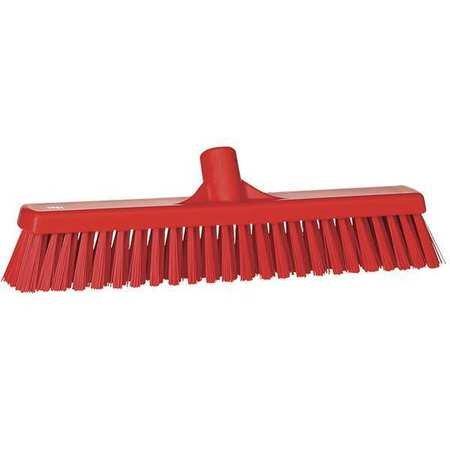 VIKAN Red Polyester Medium Sweeping Combo Floor Broom