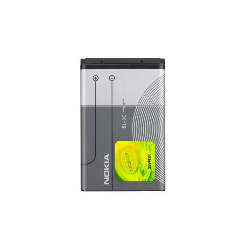 Nokia BATNOBL5C Akku (1.020 mAh, BL5C / 1112/1200 / 1650/1800 / 2300/2323 Classic / 2330 Classic / 2600/2700 Classic / N70)