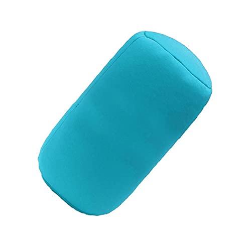 Jorzer Rundhals-Kissen Zum Schlafen Nacken Schmerzlinderung Seite Rücken Bauch Schlafwagen Oder Bürostuhl Sofa Blau Tägliche Lieferungen