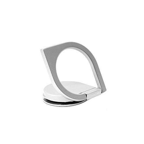 RingSpinner【国内正規品】リングスピナースマホリングスタンドホールドリングバンカーリング指スピナー360度回転落下防止強い粘着力携帯ホルダースタンド機能(シルバー)