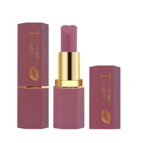 Missoul Cosmetics Matte Und KüRbis Farbe Bohnenpaste Lip Solid Gloss Lipstick Long Last