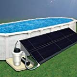 Doheny's Solar Heating Systems for Above Ground Swimming Pools (5' x 20' Collector Kit)