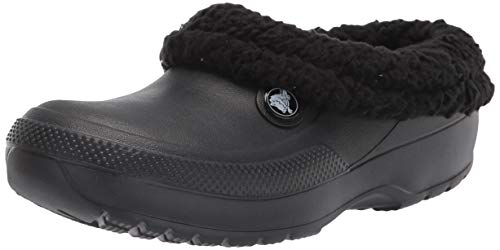 Crocs womens Classic Blitzen Iii Clog Mule, Black/Black, 10 Women 8 Men US