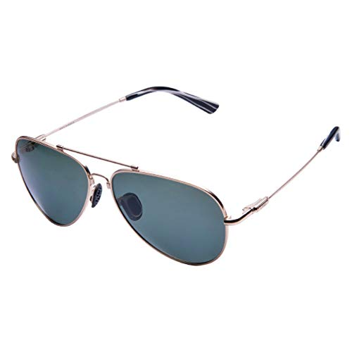 TAIQX Polarizado gafas de sol aviador Gafas de sol de primavera clásico de conducción de armas de gran tamaño y tamaño medio traje de rostros de mujeres/hombres lentes de espejo, UV 400