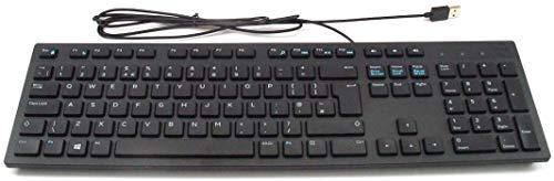 Dell KB216 USB QWERTY Englisch Schwarz Tastatur - Tastaturen (Standard, Verkabelt, USB, QWERTY, Schwarz)