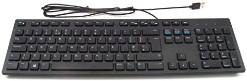 Dell KB216 - Keyboard - USB - Black - for Inspiron 3459, 5759, Latitude 3310 2-in-1, 34XX, 35XX, 7390 2-in-1