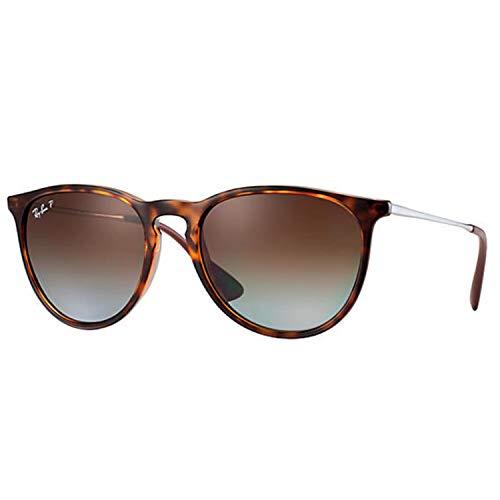Ray-Ban Polarisierte Sonnenbrille Frauen 0Rb4171 Erika - 54Mm Havana-Braun Gradi (One Size, Braun)