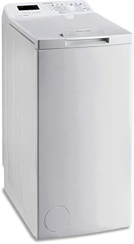 Privileg PWT D61253P (DE) Toplader Waschmaschine / A+++ / 6 kg / 1200 UpM / Startzeitvorwahl / Extra Waschen / Extra Spülen / Wolle-Programm / Wasserschutz / RapidWash-Programme unter 59 Minuten