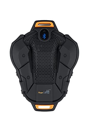 AceCamp Pulsera con altavoz Bluetooth, recargable por USB, con función manos libres, ideal para ciclismo, al aire libre, reproductor de música, impermeable, portátil 3193