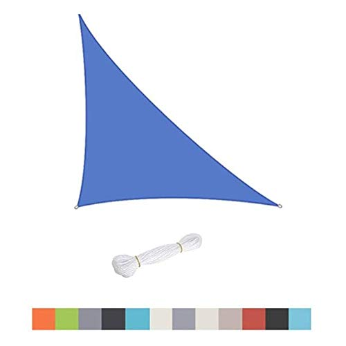 MIEMIE Sun Shade Sail for Garden Balcony Awning Canopy Triangle Waterproof Block Multiple Colors Outdoor Yard Party
