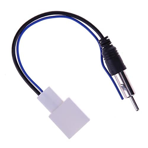 XIAOBAILONG - Adaptador de antena para reproductor de CD estéreo de 230 mm para Toyota (nombre del color: A)