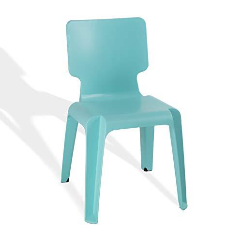 Stapelstuhl, Kunststoff Stuhl Stapelbar Authentics Wait robust versch.Farben türkis