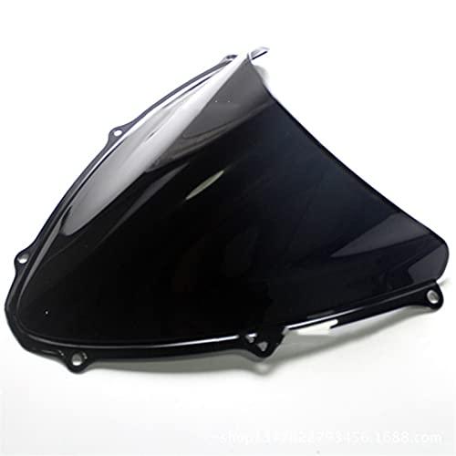 Fit For Suzuki GSXR600/750 K6 2006-2007 Parabrisas De Motocicleta Parabrisas De Aluminio De Motocicleta Parabrisas Deflector De Viento De Motocicleta (Size : Transparent)