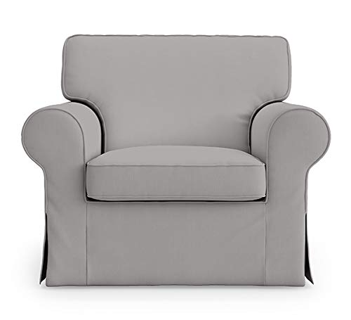 Ektorp IKEA Sessel, 5 Farben, Baumwollbezug für IKEA EKTORP Stuhlbezug Ersatz