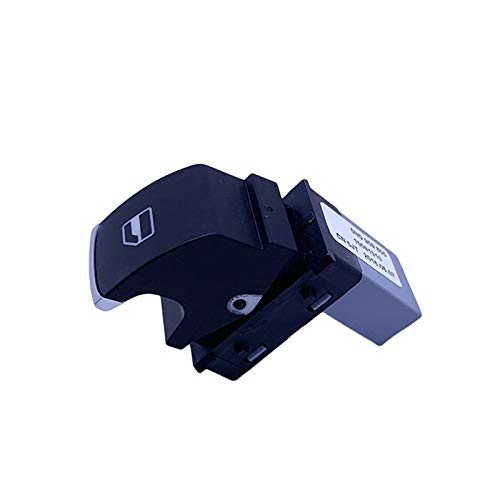 KUANGQIANWEI 1set Chrome Electric Power Master Windoor Switch Fit para JJETTA Ajuste para Golf MK5 MK6 GTirabbit Fit para Passat B6 Fit para Tiguan 5nd 959 857 5nd 959 855 (Color : 1PCS)
